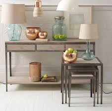 reclaimed wood and metal furniture. Rustic Wood And Metal Console Table With Drawer Storage Plus Square Made From Reclaimed Base Ideas Furniture