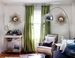Image of: Mid Century Modern Curtains Ideas