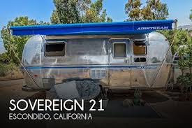airstream trailer rvs for 1995 airstream sovereign 21