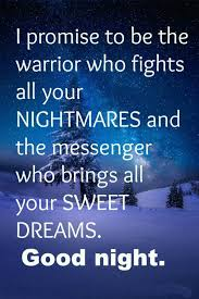Quote About Good Night And Sweet Dreams
