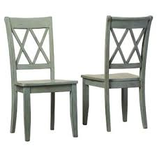 castle pines solid wood dining chair set of 2