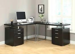 monarch hollow core corner desk specialties cappuccino l shaped computer