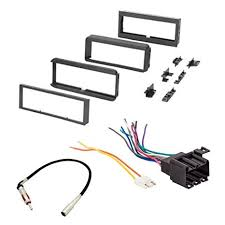 amazon com car stereo radio cd player receiver install mounting kit  at 1990 Olds Trofeo Stereo Amp Wire Diagram