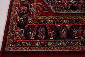 fine all over design bright color lilian hamedan persian oriental area rug 9x13 6 6 of 12