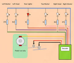 class dcc conversion and lighting update circuit diagram for lighting and power car connections