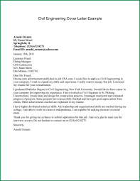 Mechanical Engineering Cover Letter Examples Kadil