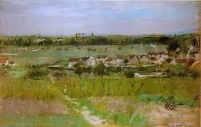 berthe morisot le village de maurecourt