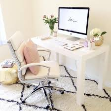 nice white computer desk chair 25 best ideas about cute desk chair on desk space