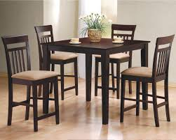 ... Furniture, Dinette Set Ikea Fusion Table Wooden Table And Chairs And  Floor Vase With Flowercup ...
