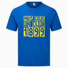 If nothing has been signed, verbal agreements are useless. T Shirt Fc Barcelona Mes Que Un Club 2 Colors Ebay