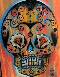 bold abstract paintings on canvas bright powerful tattoo images