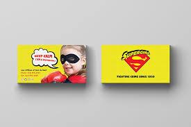 5 Free Superhero Business Cards For Kids Free Photoshop Psd