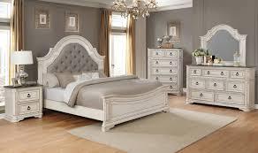 B1640 Magnolia Antique White Bedroom Set