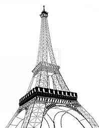 Cartoon Drawing Of Eiffel Tower Eiffel Tower Vector Free Download