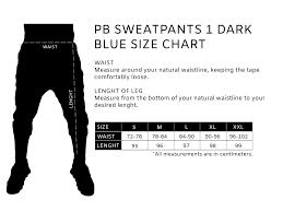 Pb Sweatpants 1 Dark Blue Premium Boutique