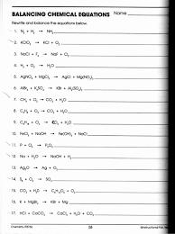 chemistry 1 phet balancing chemical equations best of balancing chemical equations worksheet answer key chemistry if8766