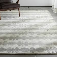 area rugs all size graphite neutral striped hand tufted crate barrel carpet