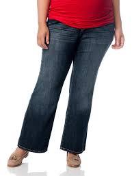 Plus Size Secret Fit Belly Boot Cut Maternity Jeans