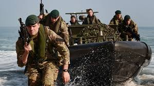 somerset s royal marines exercise in cornwall