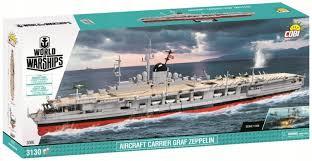 Немецкий <b>авианосец</b> Граф Цеппелин. <b>COBI</b>-3086.