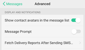 Dilivery Report Read Report For Sms Messages Android Devices Android Forums
