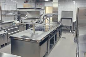 contemporary kitchen stainless steel modular commercial