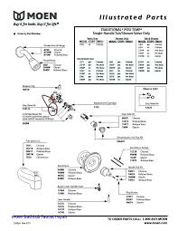 shower faucet parts diagram bathroom roman tub list repair kitchen moen bathtub faucet repair