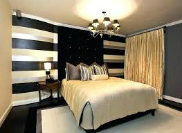 Black And White Bedroom Decor Black Gold White Bedroom Black White ...