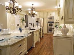 traditional antique white kitchens. Kitchen:Elegant Style Traditional White Kitchen Design With Marble Island Countertop Over Double Antique Kitchens T