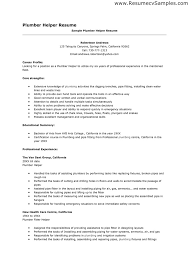 Resume Helper Template Plumber Resume Resume Cv Cover Letter Templates