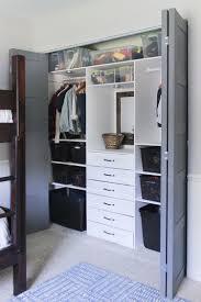 how to build this small closet organizer