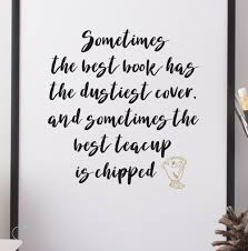 Beauty And The Beast Quotes Best of BEAUTY THE BEAST ART MRS POTTS PRINT