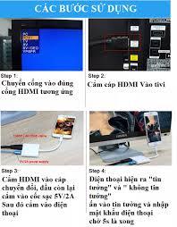 Cáp kết nối điện thoại iphone ipad với tivi lightning to HDMI bộ chuyển đổi  từ lightning sang HDMI cáp hdmi cho iphone dây kết nối tivi vơi điện thoại cáp  tivi