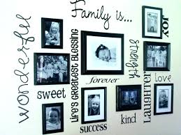 family frame collage picture frames wall decor photo ideas with decorating target