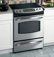 ge profile 30 slide in electric range js968skss appliances