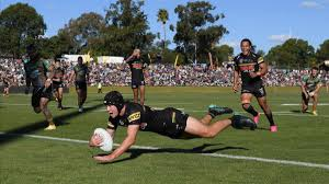 Panthers humiliate rabbitohs in dubbo. Penrith Thrash Souths Continue Nrl Streak The West Australian
