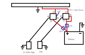 wiring diagram for spotlights to high beam wiring diagram lightbar cable size overkill page 2 the navara forum on wiring driving lights to high beam