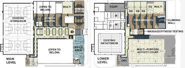 small recreation center floor plans