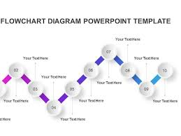 Step Chart In Powerpoint Dribbble 10 Step Flow Chart Diagram Powerpoint Template