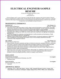 Electrician Resume Sample Lovely Write An Electrician Resume Sample Experience Electrical 65