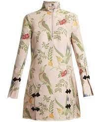 MARQUES ALMEIDA(マルケスアルメイダ)の「MARQUES'ALMEIDA Janis bird-brocade  dress(ワンピース)」 - WEAR