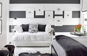 Black And White Small Room Ideas Patterned Sliding Bath Door Blue - Painting a bedroom blue