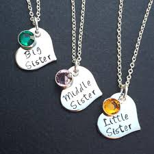 3 sisters necklace set of 3 necklaces