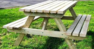 picnic tables with detached benches wooden picnic tables with separate benches luxury paint amp clean wood picnic tables with detached benches