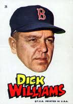 Dick Williams, 1967 Topps sticker