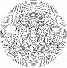 Small Picture Printable 24 Geometric Animal Coloring Pages 9765 Geometric
