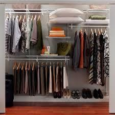 Portable Closet Rod Metal Storage Shelves For Closet Roselawnlutheran
