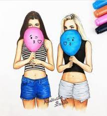 200+ Girls pictures ideas | art girl, girl drawing, girly art