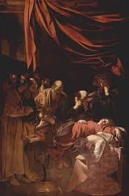 caravaggio of the virgin oil on canvas 369cm x 245cm