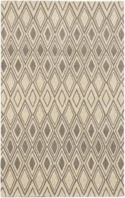 handmade oleander cream grey wool rug hand tufted area rug 5 x